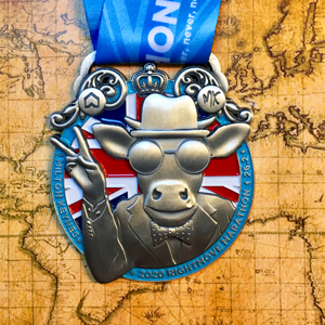 Rightmove MK Marathon - VE 75th Anniversary Themed Medal