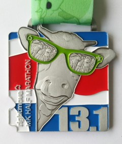 Rightmove MK Half Marathon 10th Anniversary Medal 2021