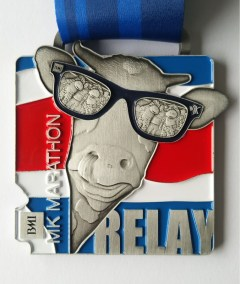 BMI MK Marathon Relay 10th Anniversary Medal 2021