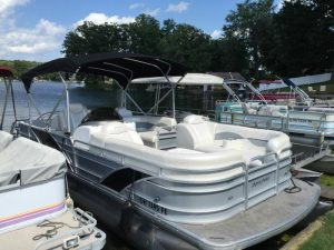 2013 Aqua Patio pontoon boat rental Torch Lake Michigan