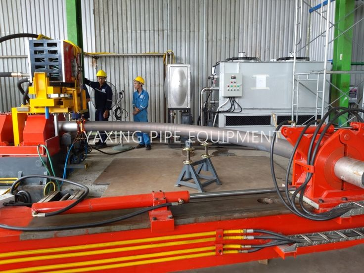 """12"""" induction hot pipe bending machine"""