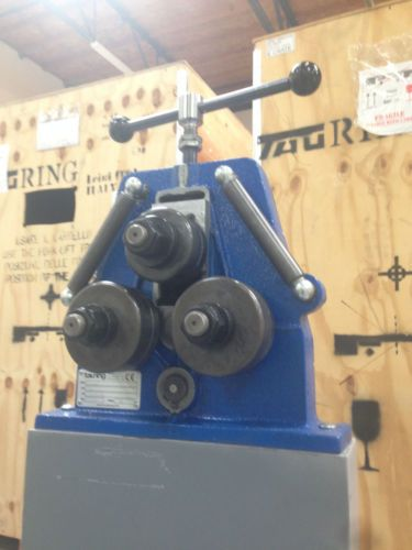New quantum tauringroup bs40m tube angle extrusion roll bending machine bender