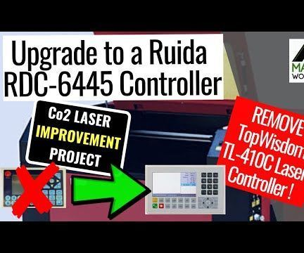 How to Swap Co2 Laser CNC Controller