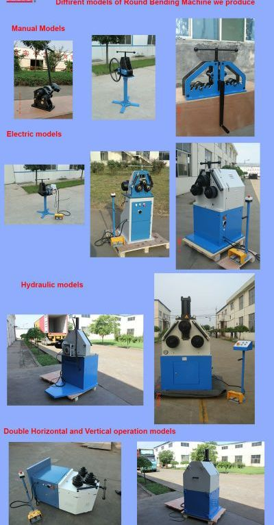 Electric Round Bending Machine RBM50HV, TTMC factory and export, high quality, c...