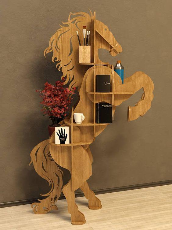 Horse Table plan vector,animals ,CNC file ,decoration,decorative ,art, shelf ,interior,souvenir ,wood, wooden, vector graphics,laser,DXF,