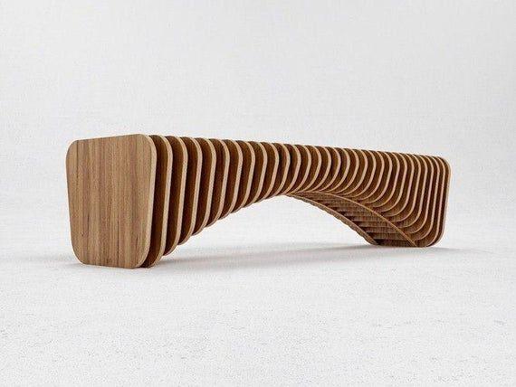 Parametric chair for cnc, cnc pattern, dxf file, dxf for plywood, svg for plywood, svg file, cdr file, cnc design, wooden house, cnc pattern
