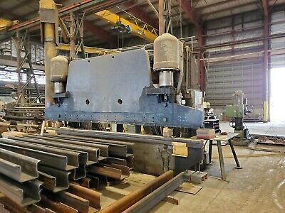 (Sponsored)(eBay) Used Pacific 16' x 500-ton Hydraulic Press Brake | Accurpr...