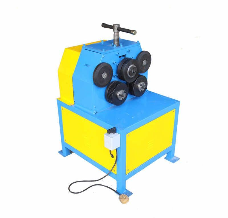 JY50 Ventilation Duct Electric Angle Iron Round Machine Roll Benders Round Section Bar Bending Machine Pipe Roller Steel Rolling| |   - AliExpress