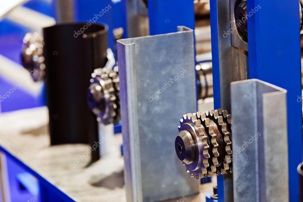Pipe bending machine - Stock Photo , #spon, #bending, #Pipe, #machine, #Photo #A...