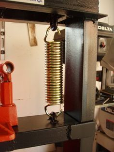 hydraulic press springs