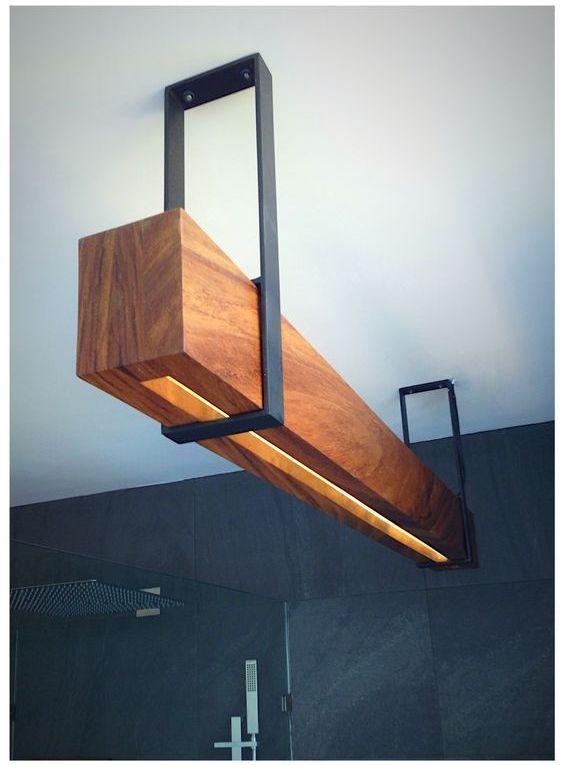 Amazing Design Wood Beam Lighting - iD Lights