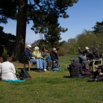 Lunch by the Japanese Garden at Kew