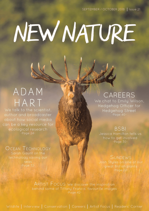 New Nature Magazine September 2018