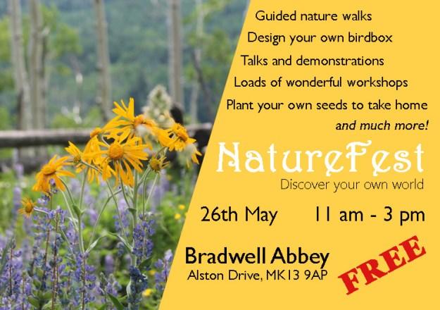 NatureFest Poster 2019