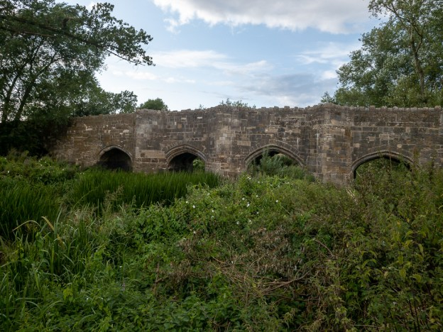 Thornborough Bridge by Peter Hassett 6 August 2019
