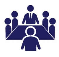Icon of a meeting