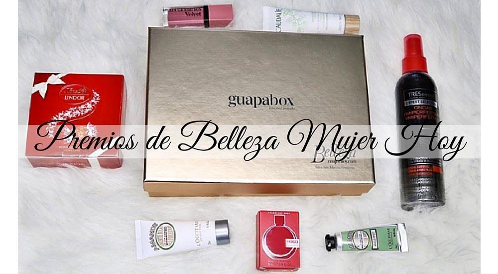 Guapabox especial IV Premios de Belleza Mujer Hoy