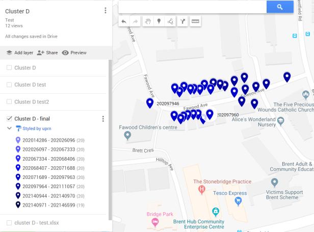 GoogleMyMaps layer finished change data properties_legend