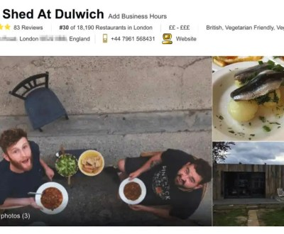 EL PODER DEL MARKETING DIGITAL Un falso restaurante logra el primer puesto en TripAdvisor