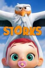Storks (2016) BluRay 480p & 720p Free Movie Download Watch Online