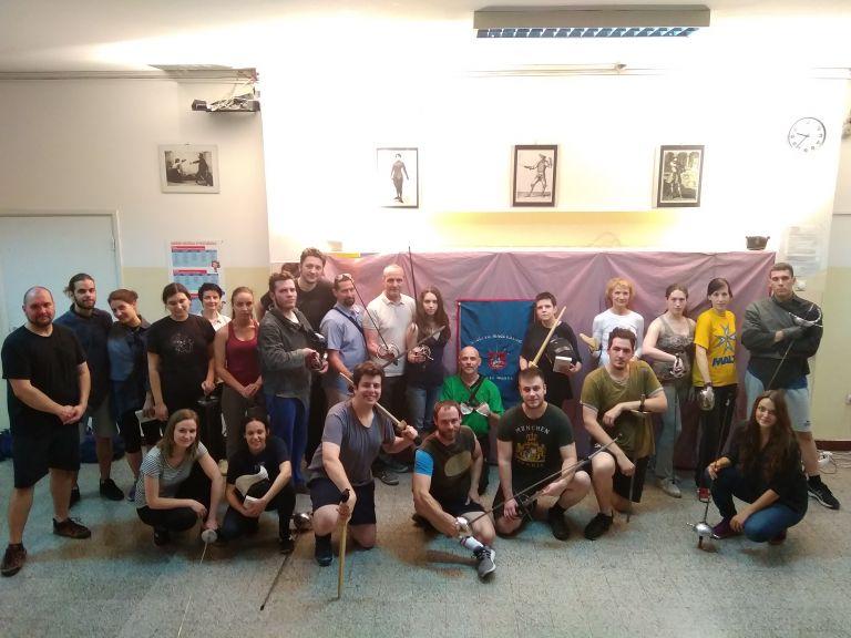 Mačevalački klub Walter u posjeti Akademiji Sveti Đorđe u Beogradu