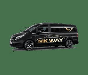 Goedkoop luchthavenvervoer met taxivervoer van MKWay