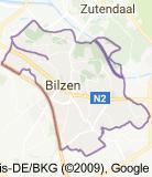 Kaart luchthavenvervoer in Bilzen