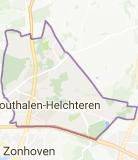 Kaart luchthavenvervoer in Houthalen-Helchteren