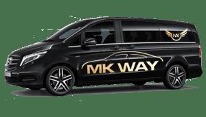 luchthavenvervoer taxi van Lede