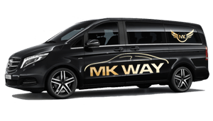 luchthavenvervoer taxi van Wervik