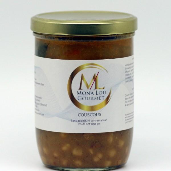 Sauce Couscous aux légumes et viande de boeuf mona lou gourmet