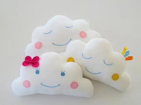 fluffy baby cloud pillow sewing pattern