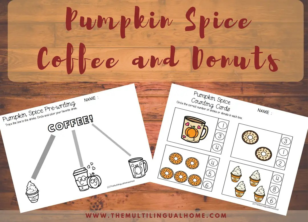 Pumpkin Spice Coffee And Donuts
