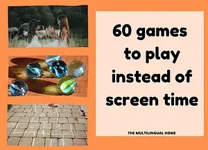 60 games to play instead of screen time