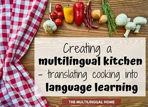 Creating a multilingual Kitchen