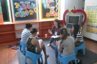 Some of our team members who facilitated the small groups