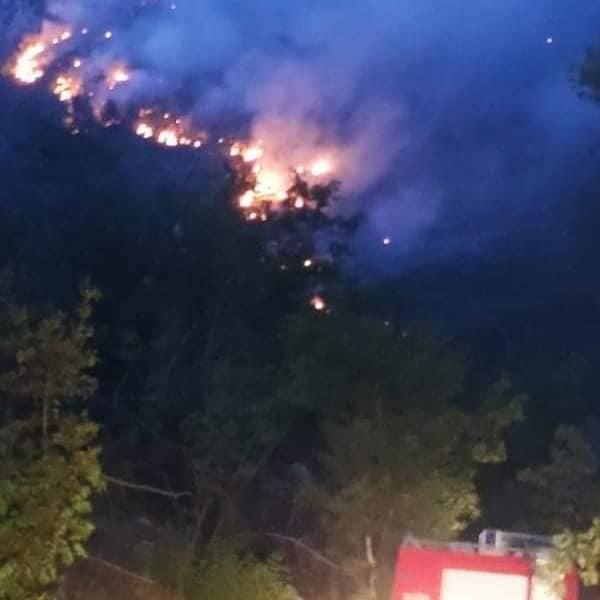 požar Nikšić