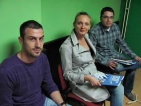 Dva Stefana i jedna Jelena na radionici