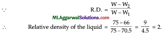 ICSE Class 9 Physics Sample Question Paper 10 with Answers 2
