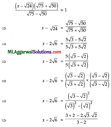 ICSE Class 9 Maths Question Paper 8 with Answers 19