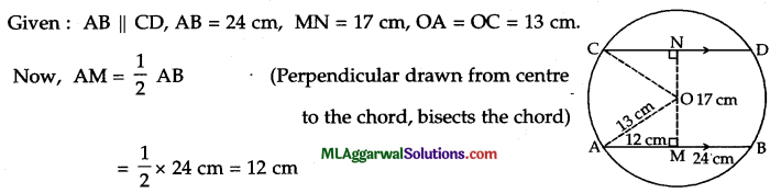 ICSE Class 9 Maths Sample Question Paper 1 with Answers 20
