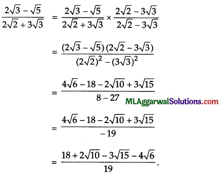 ICSE Class 9 Maths Sample Question Paper 5 with Answers 24