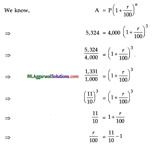 ICSE Class 9 Maths Sample Question Paper 5 with Answers 5
