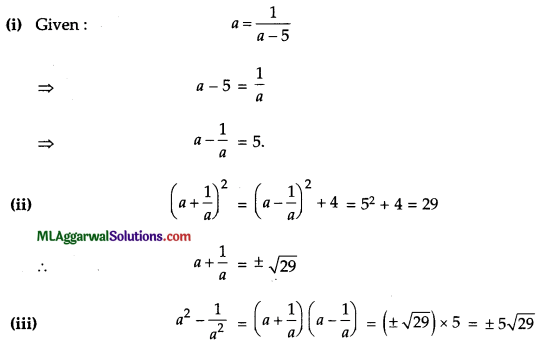 ICSE Class 9 Maths Sample Question Paper 10 with Answers 10