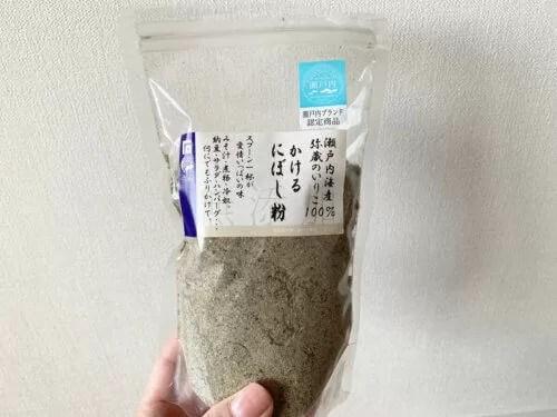 瀬戸内海産 かけるにぼし粉