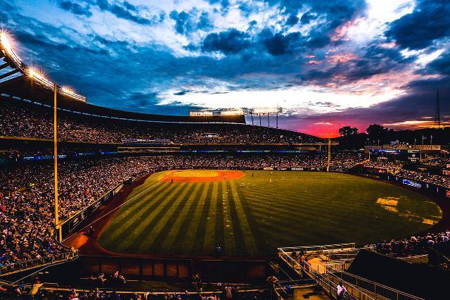 Image result for stadium sunset