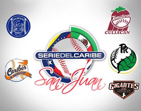 Logotipo Serie del Caribe en Puerto Rico