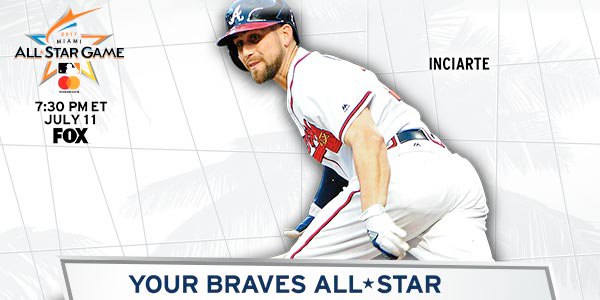 Ender Inciarte has been named to the National League All