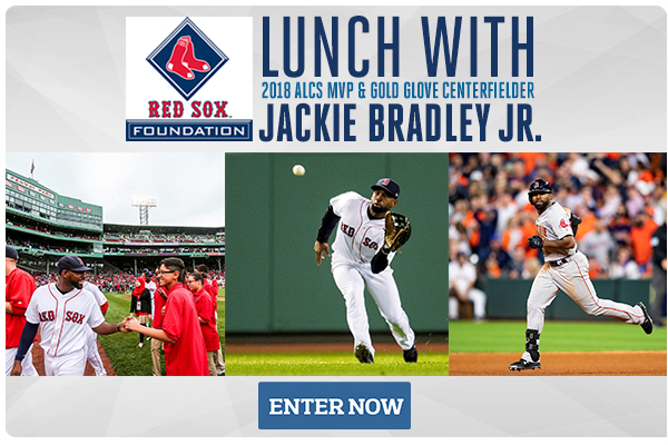 Lunch with 2018 ALCS MVP & Gold Glove Centerfielder Jackie