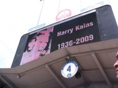 R.I.P. to longtime Phillies broadcaster and NFL Films narrator Harry Kalas